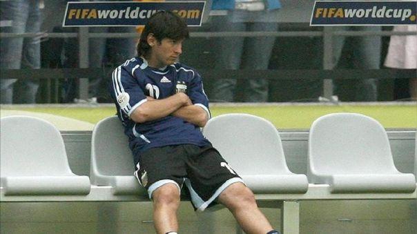 ¿Por qué Messi no jugó ante Alemania en el Mundial del 2006? Excompañero reveló la verdad