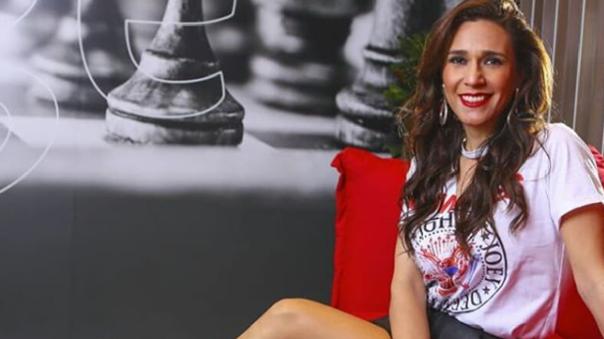 Verónica Linares espera a su segundo bebé.
