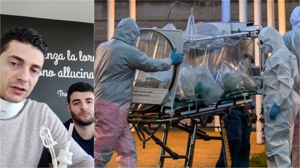 Solución llega en medio de una falta de suministros por el número de afectados por el nuevo coronavirus en Italia.