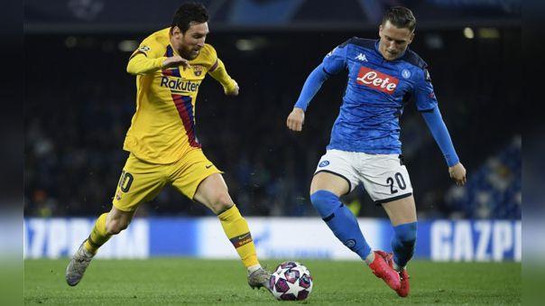 La Champions League se suspendió en el desarrollo de los partidos de octavos de final