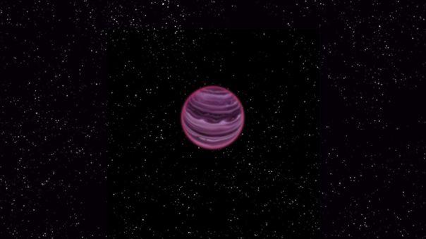 El exoplaneta se mantiene solo. Imagen referencial.