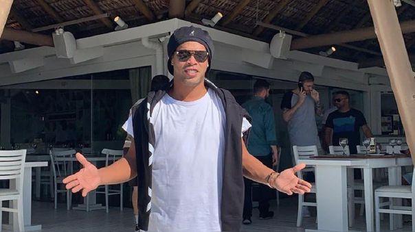 Ronaldinho ya lleva doce días en una cárcel de Paraguay