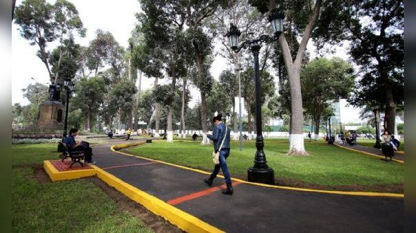 Doce parques del Cercado de Lima serán modernizados.