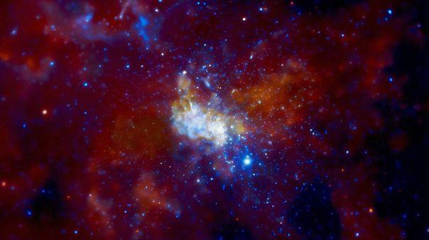 Imagen de Sagitario A * proporcionada por el observatorio Chandra.