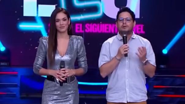 Jazmín Pinedo y Gian Piero Díaz