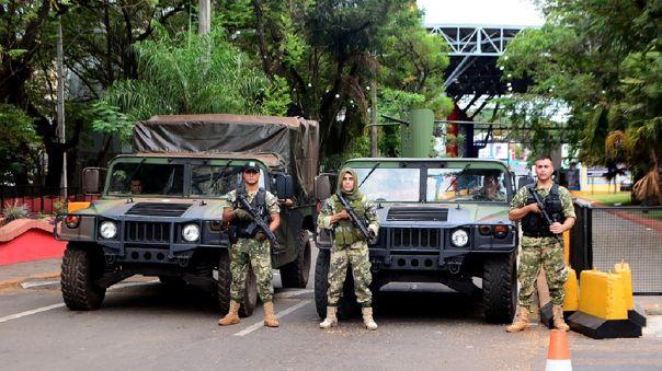 Frontera de Paraguay con Brasil