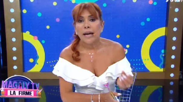 Magaly Medina expresó su emoción al ver a los peruanos cantando durante la cuarentena.