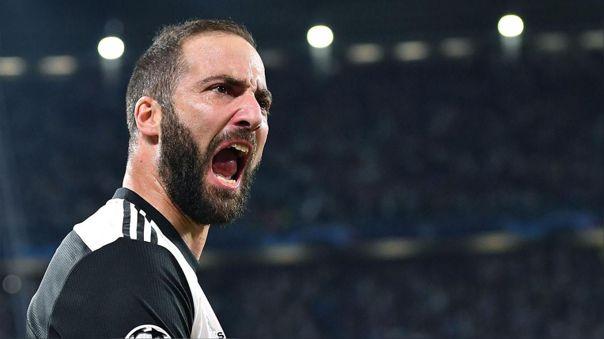 Gonzalo Higuaín fue puesto en cuarentena junto al plantel de Juventus