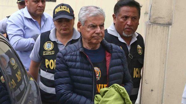 César Villanueva cumple una orden de prisión preventiva en el penal Miguel Castro Castro.