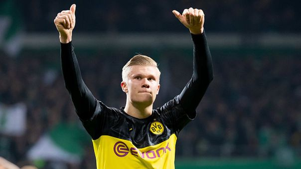 Erling Haaland fichó por Borussia Dortmund tras su paso por Red Bull Salzburg