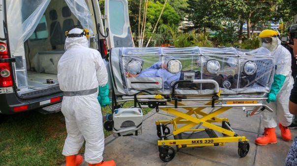 Tres muertos por coronavirus en el Perú.