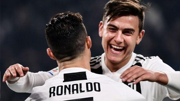 Paulo Dybala y Cristiano Ronaldo son compañeros en Juventus
