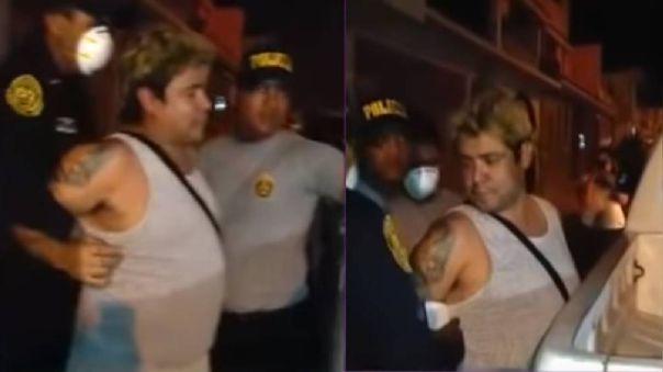 Lucho Cuéllar fue detenido por presunta agresión a su esposa.