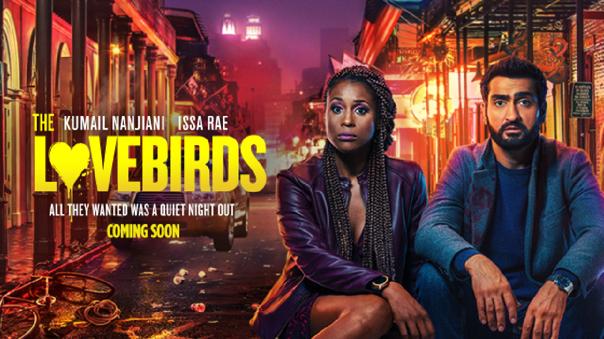 """""""The Lovebirds"""" la película que se estrenó en Netflix sin pasar por los cines debido al coronavirus"""