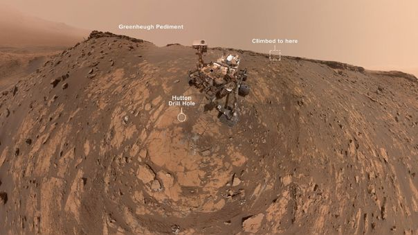 Selfie del rover Curiosity