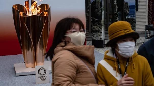 Antorcha Olímpica en Japón