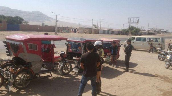 Mototaxistas son los más intervenidos en estado de emergencia