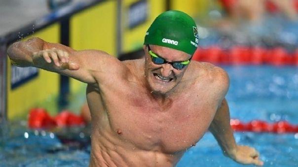 Cameron Van Der Burgh, ex nadador sudafricano