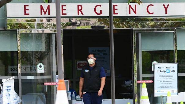 Hospital de emergencia de Los Ángeles, en California (Estados Unidos)