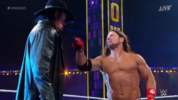 Undertaker vs. AJ Styles
