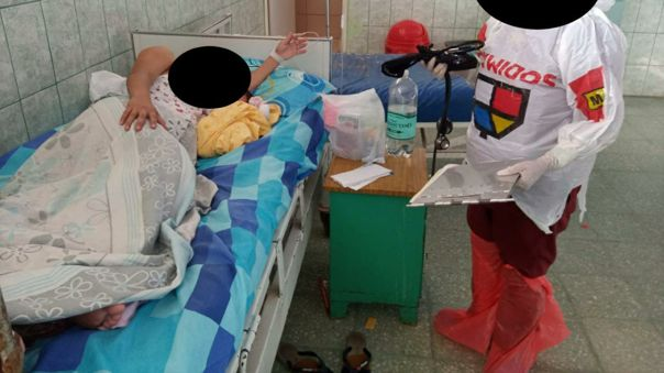 Con bolsas de plástica atienden las obstetras de la ciudad de Chiclayo