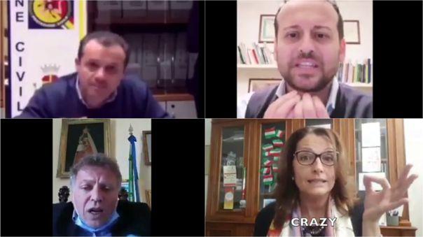 Alcaldes italianos han dado estos mensajes en redes sociales.
