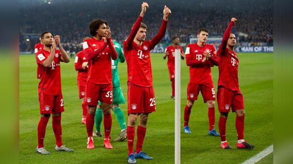 Bayern Múnich es el líder de la Bundesliga en la temporada 2019-20
