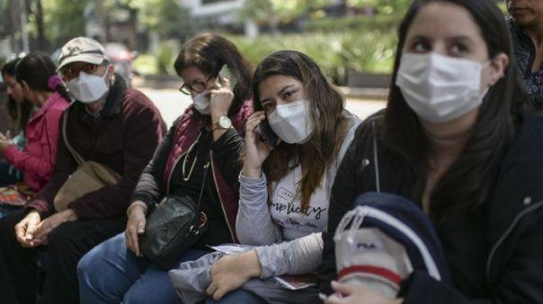 Peruanos varados en Ciudad de México (referencial)
