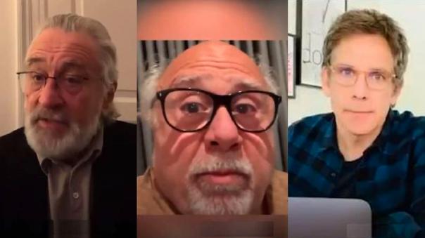 Robert De Niro, Danny DeVito y Ben Stiller
