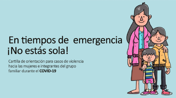 En tiempos de emergencia, ¡no estás sola!