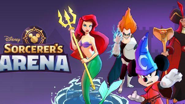 """""""Disney Sorcerer's Arena"""""""