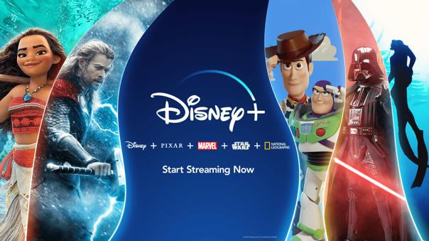 Disney+ es la principal competencia de Netflix.