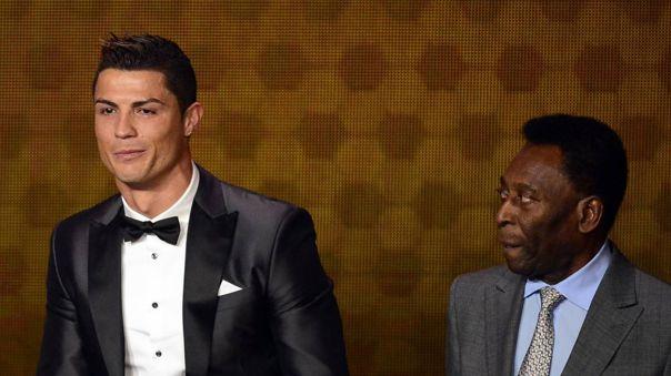 Pelé destacó a Cristiano Ronaldo como el mejor jugador de la actualidad