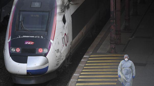 Francia, el tercer país europeo más golpeado por el coronavirus después de Italia y España.