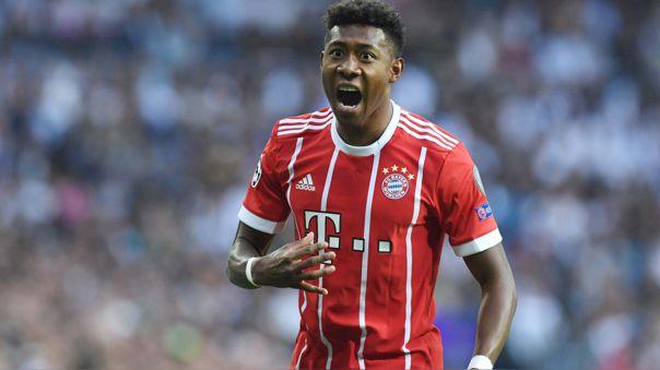 David Alaba, de 27 años, juega en el primer equipo del Bayern Múnich desde el 2009