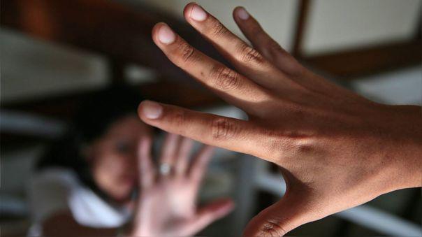 Violencia contra la mujer - Fotografía referencial