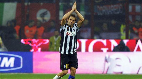 Alessandro Del Piero se retiró del fútbol en 2014