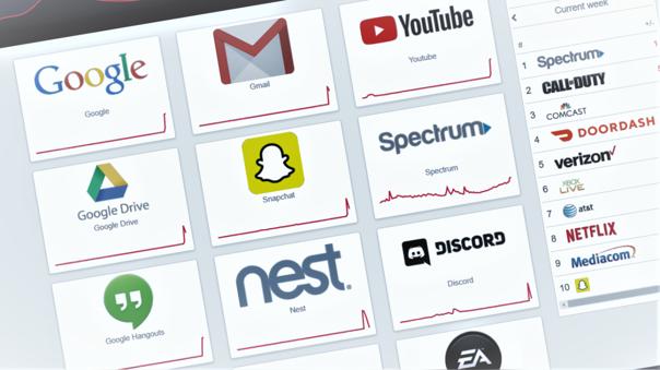 Diversos servicios web reportan fallas en conexión y acceso
