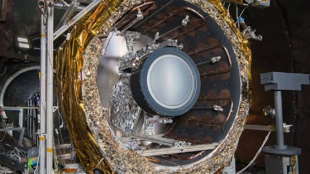 Motor espacial de iones NEXT-C
