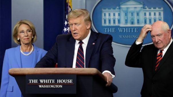 Donald Trump ha sido criticado por su manejo de la crisis por el coronavirus en Estados Unidos.