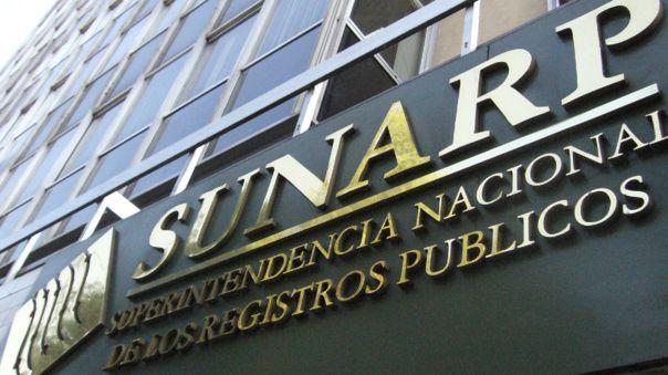 Sunarp realizó trámites durante el Estado de Emergencia.