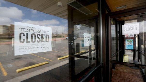 Restaurante cerrado en Estados Unidos (referencial)
