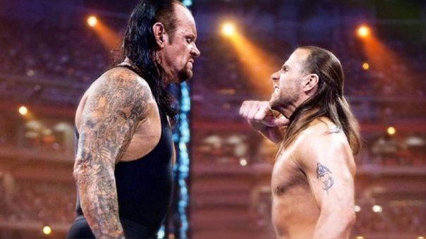 Undertaker vs. Shawn Michaels