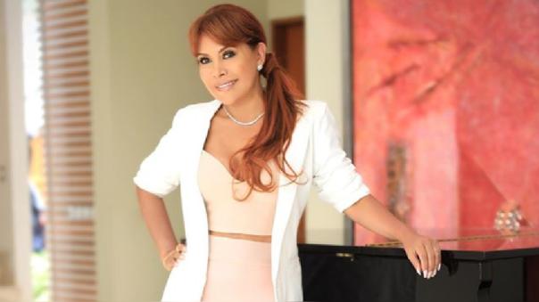 Magaly Medina aclara que su salud está muy bien.