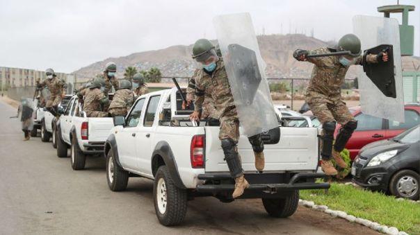 Reservistas apoyarán el patrullaje en las calles por el estado de emergencia