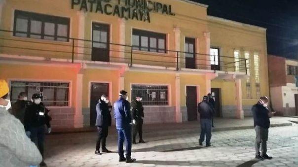Patacamaya, en Bolivia