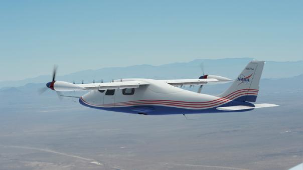 El X-57 tiene un total de 12 motores.