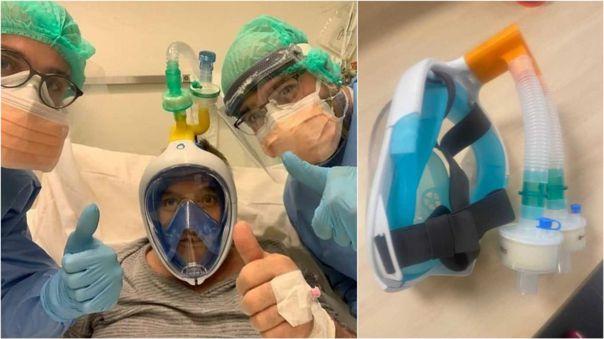 Las máscaras de esnórquel también ayudan a salvar vidas.