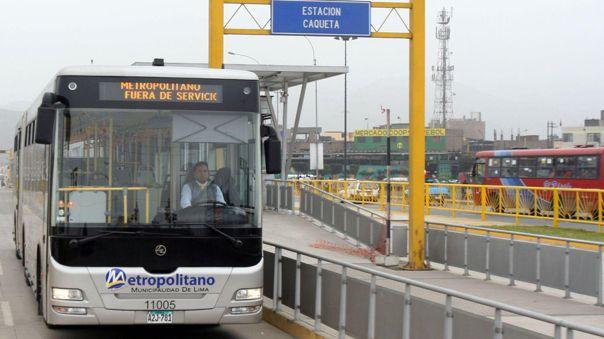 Municipalidad de Lima busca que el Metropolitano continúe operando.