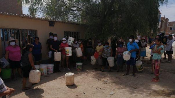 Familias de Pueblo Joven Nazareno no cuentan con agua potable